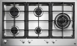 5 зон приготовления в газовых варочных панелях Teka