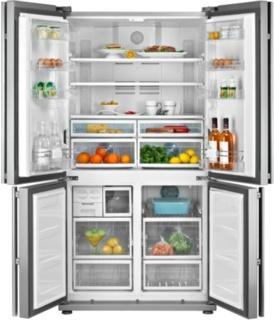 Холодильники Side-by-side – плюсы и минусы вместительных моделей